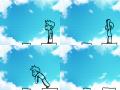 점프 : 잘못 계산한 거리 ㅜㅡㅜ 스케치판 ,sketchpan